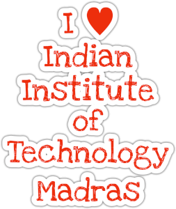 I ♥︎ Indian Institute of Technology Madras