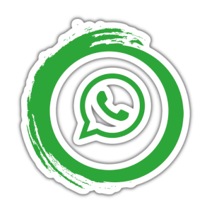 Whats app logo green