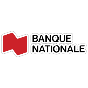 Banque Nationale Logo Red and White
