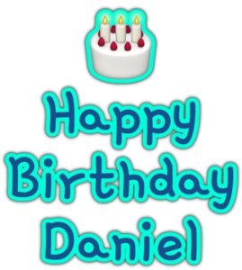 🎂 Happy Birthday Daniel