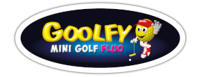 goolfy mini golf logo