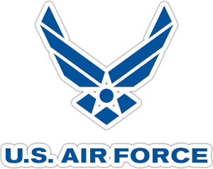 US Airforce Logo Blue Shield