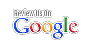 Review Us On Google logo grey blue red yellow and green
