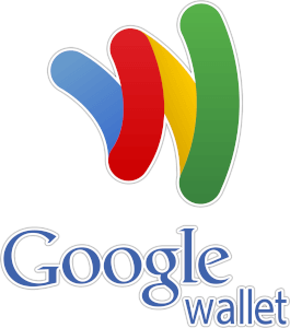Google Wallet logo blue red yellow and green