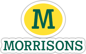 Morrisons logo green white and yellow