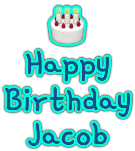 🎂 Happy Birthday Jacob