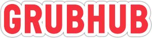 Crubhub Logo red letters