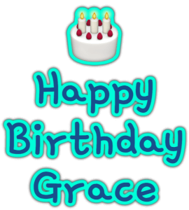 🎂 Happy Birthday Grace