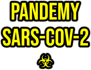 pandemy SARS-CoV-2 png transparent title sticker